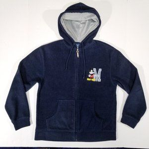Disney Mickey Mouse Zip-Up Hoodie Sweatshirt
